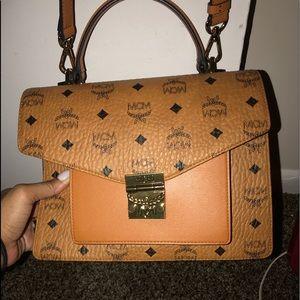 Mcm satchel brand new